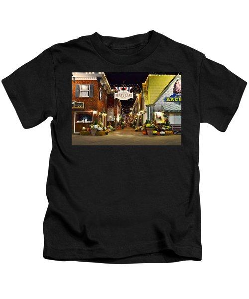 Autumn In Penny Lane - Rehoboth Beach Delaware Kids T-Shirt