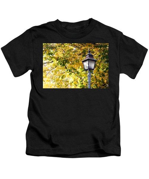 Autumn Lamp Post Kids T-Shirt