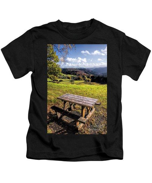 Autumn View Kids T-Shirt