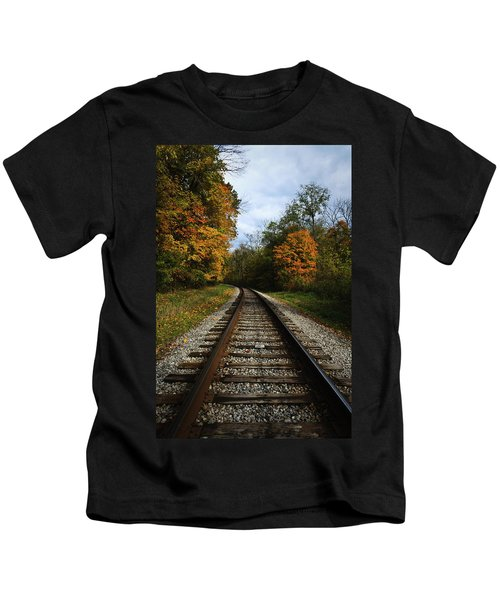 Autumn View Kids T-Shirt