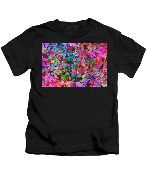 Autumn Virginia Creeper Kids T-Shirt