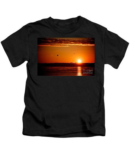 Awakening Sun Kids T-Shirt