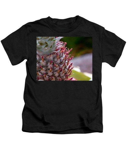Baby White Pineapple Kids T-Shirt