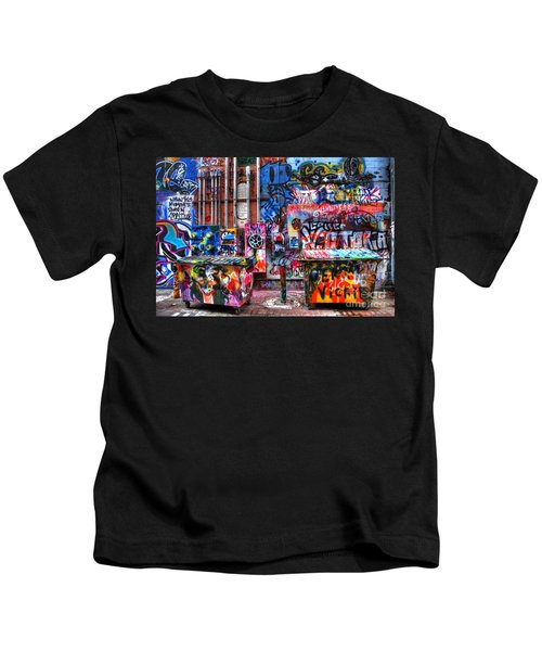 Back Alley Canvas Kids T-Shirt