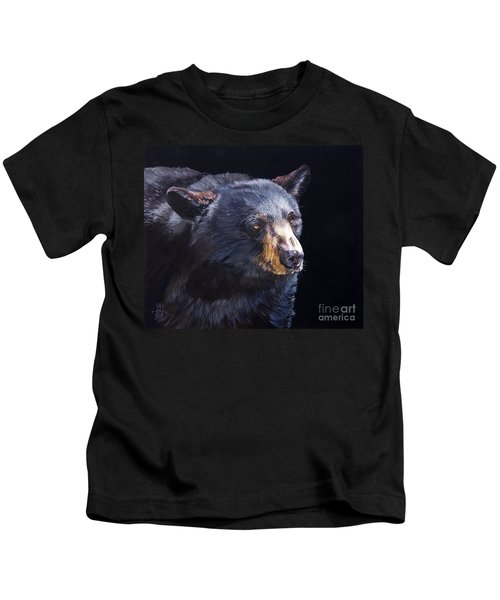 Back In Black Bear Kids T-Shirt