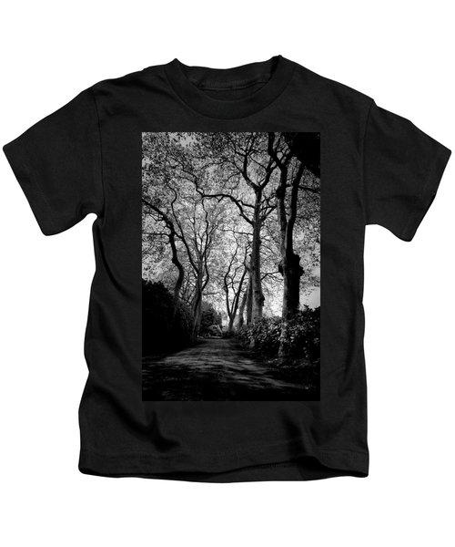 Back Road West Kids T-Shirt