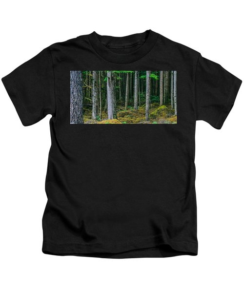 Inside View Backroad Forest Kids T-Shirt