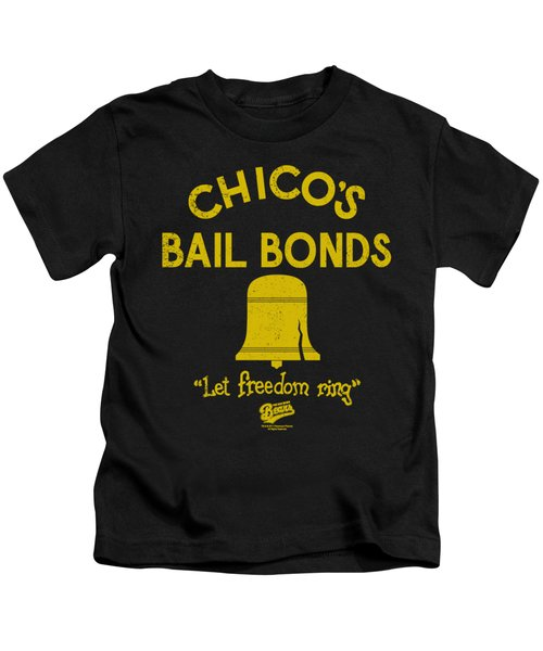 Bad News Bears - Chico's Bail Bonds Kids T-Shirt