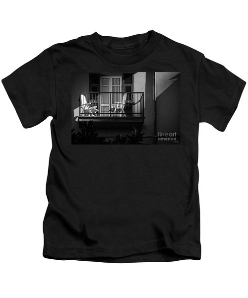 Balcony Bathed In Sunlight Kids T-Shirt