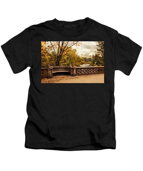 Balcony Bridge Views Kids T-Shirt