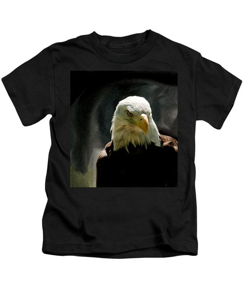 Bald Eagle Giving You That Eye Kids T-Shirt