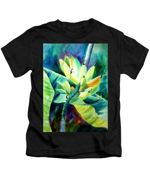Bananas 6-12-06 Julianne Felton Kids T-Shirt