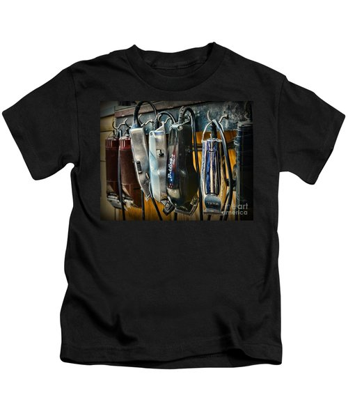 Barber -  Hair Clippers Kids T-Shirt