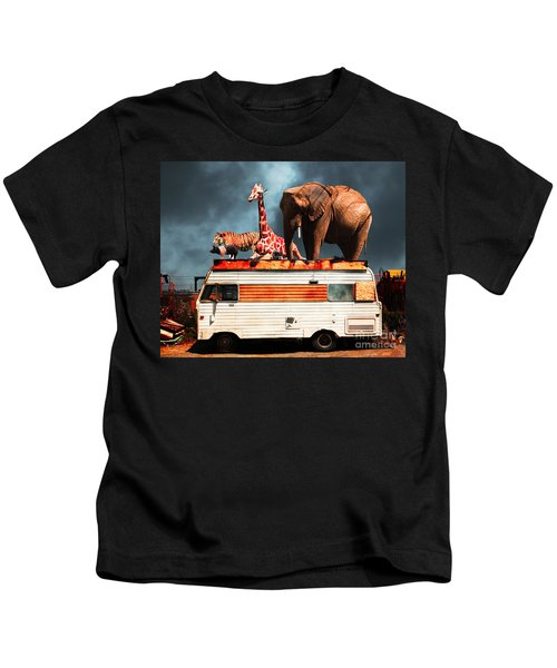 Barnum And Bailey Goes On A Road Trip 5d22705 Kids T-Shirt