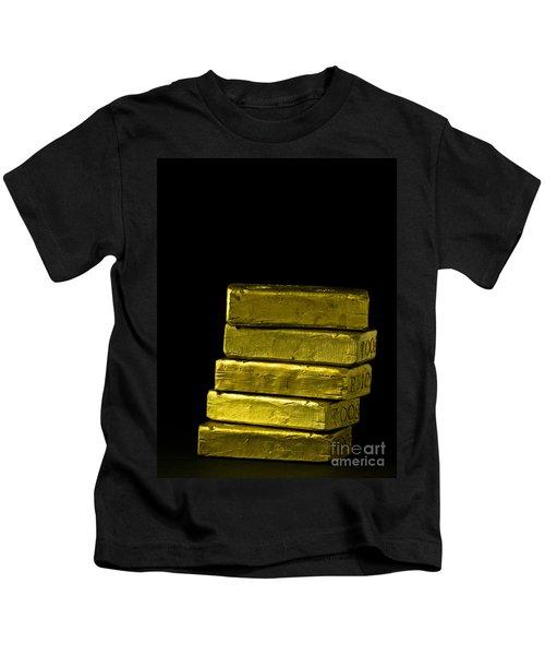 Bars Of Gold Kids T-Shirt