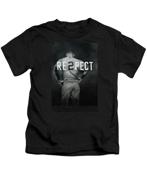 Baseball Kids T-Shirt by Jewels Blake Hamrick