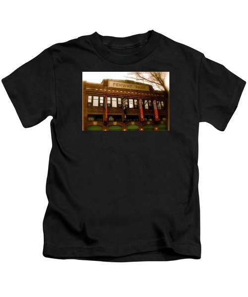 Baseballs Classic  V Bostons Fenway Park Kids T-Shirt