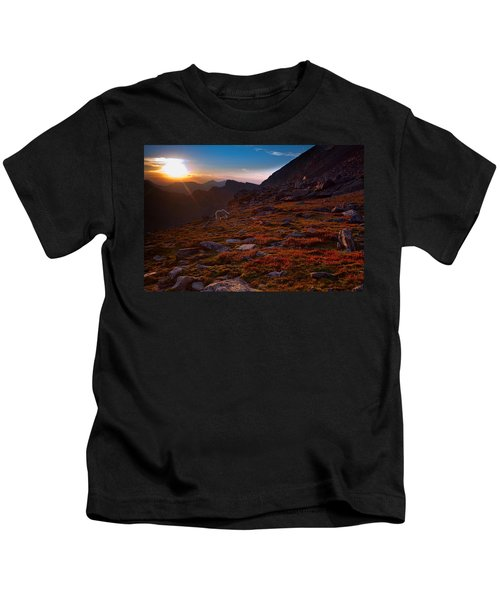 Bathing In Last Light Kids T-Shirt