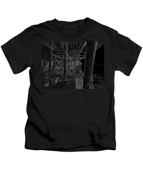 Beach Pier  Underworld  Kids T-Shirt