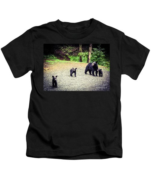 Bear Family Affair Kids T-Shirt
