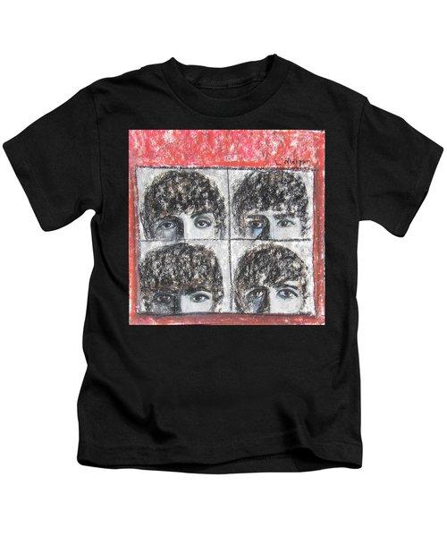 Beatles Hard Day's Night Kids T-Shirt