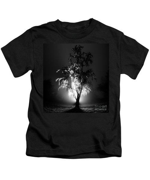 Beautiful Foggy Night 1 Kids T-Shirt