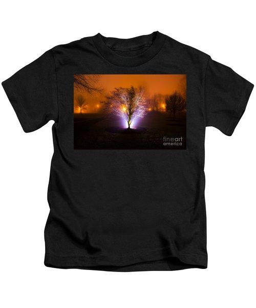 Beautiful Foggy Night 2 Kids T-Shirt