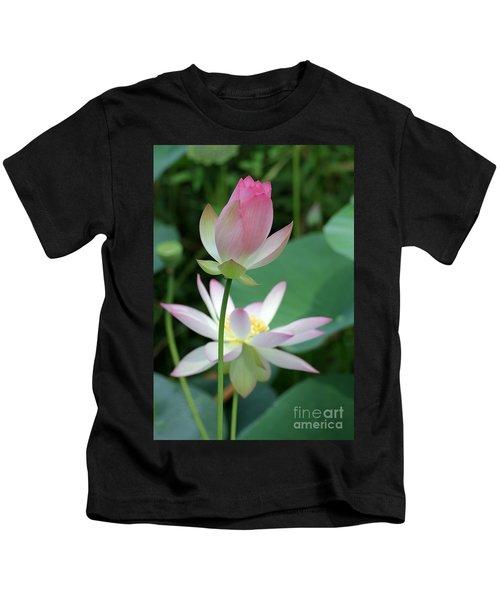 Beautiful Lotus Blooming Kids T-Shirt