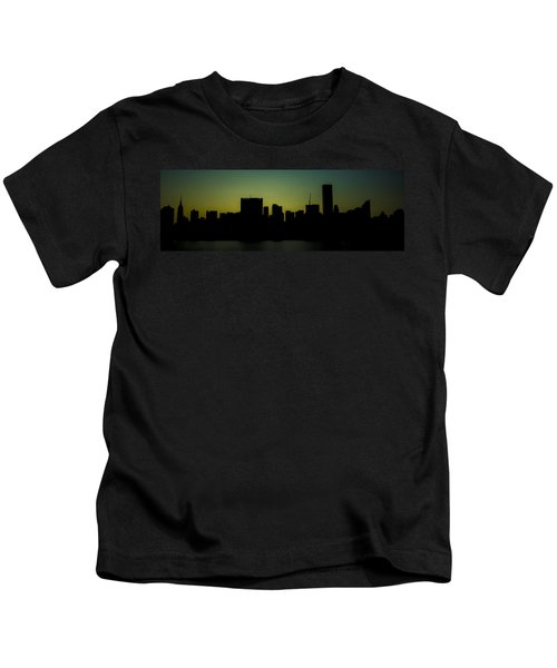 Beauty Of The Night Kids T-Shirt
