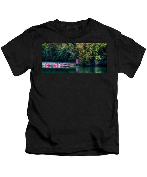 Beavers Bend Reflection Kids T-Shirt