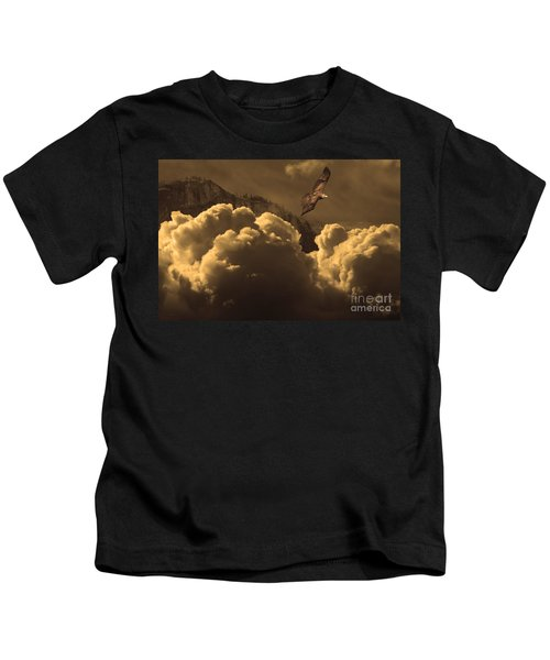 Before Memory . I Have Soared With The Hawk Kids T-Shirt