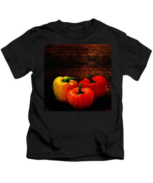 Bell Peppers Kids T-Shirt