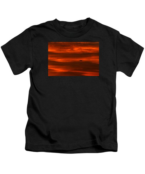 Beyond Now By Denise Dube Kids T-Shirt