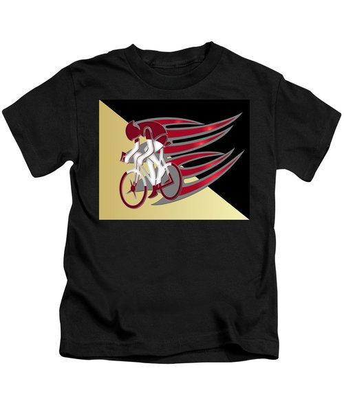 Bicycle Rider 01 Kids T-Shirt