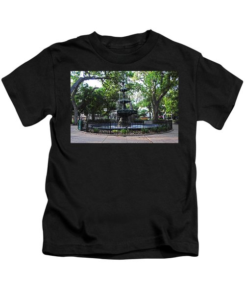 Bienville Fountain Mobile Alabama Kids T-Shirt