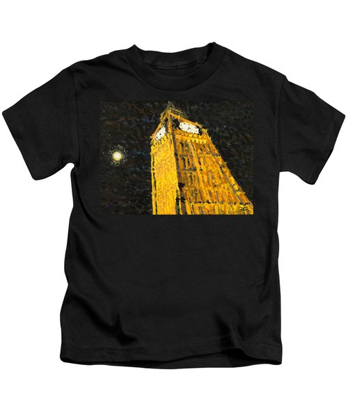 Big Ben At Night Kids T-Shirt