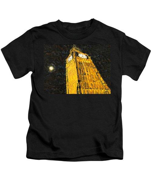 Big Ben At Night Kids T-Shirt