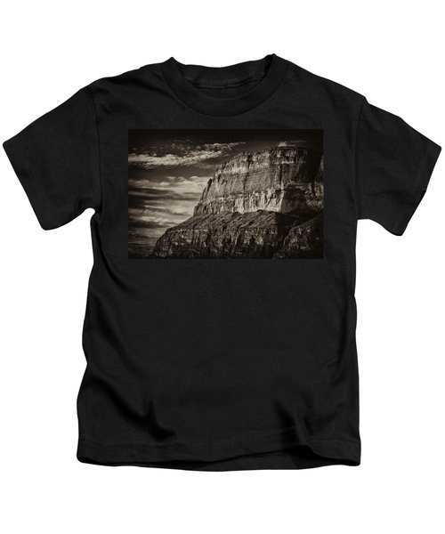 Big Bend Cliffs Kids T-Shirt