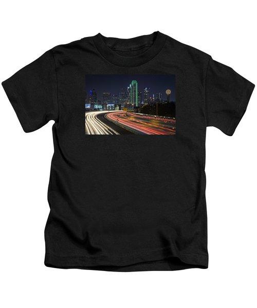 Big D Kids T-Shirt by Rick Berk