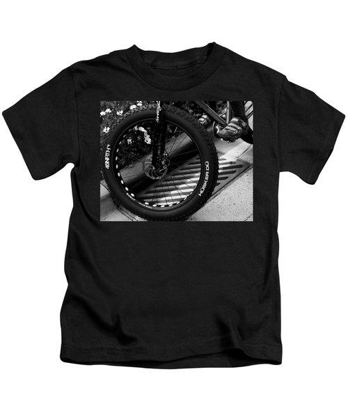 Bike Tire Kids T-Shirt