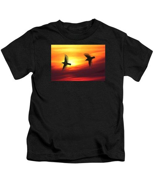 Bird Lovers Kids T-Shirt