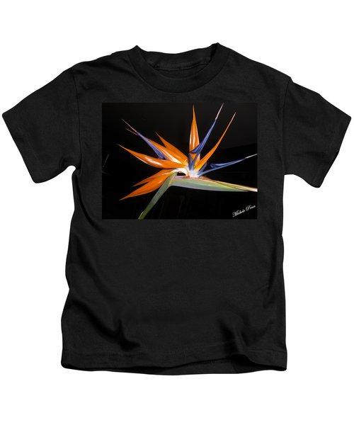 Bird Of Paradise Beauty 4 Kids T-Shirt