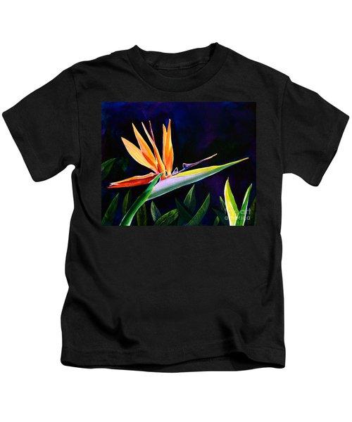 Bird Of Paradise Kids T-Shirt