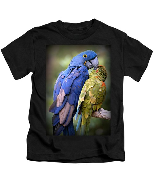 Birds Of A Feather Kids T-Shirt