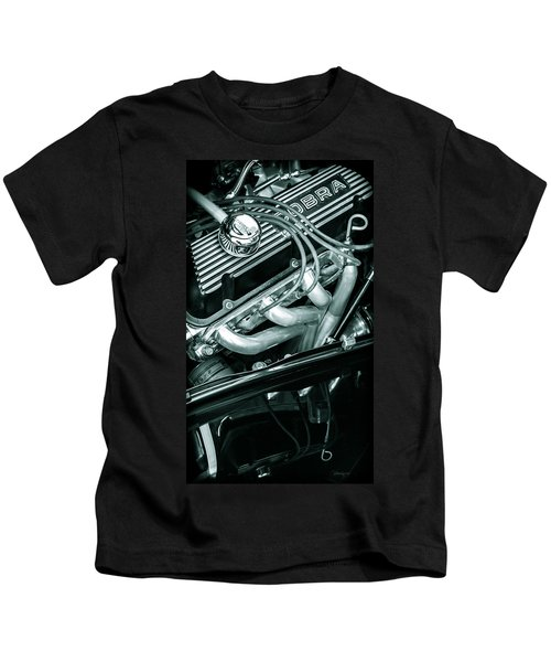 Black Cobra - Ford Cobra Engines Kids T-Shirt
