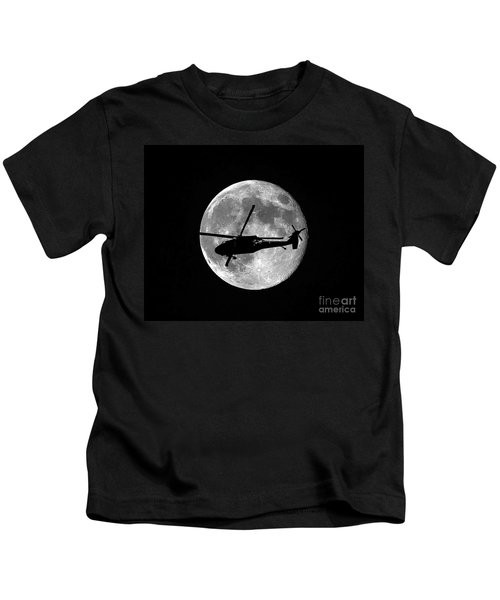 Black Hawk Moon Kids T-Shirt
