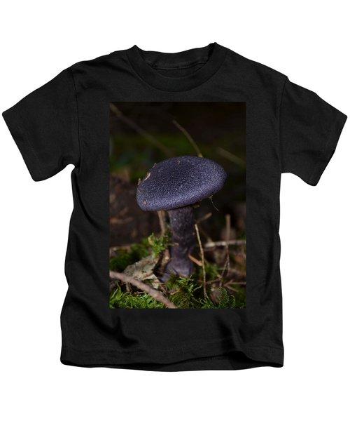 Black Mushroom Kids T-Shirt
