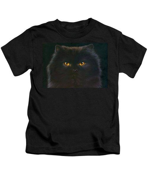 Black Persian Kids T-Shirt