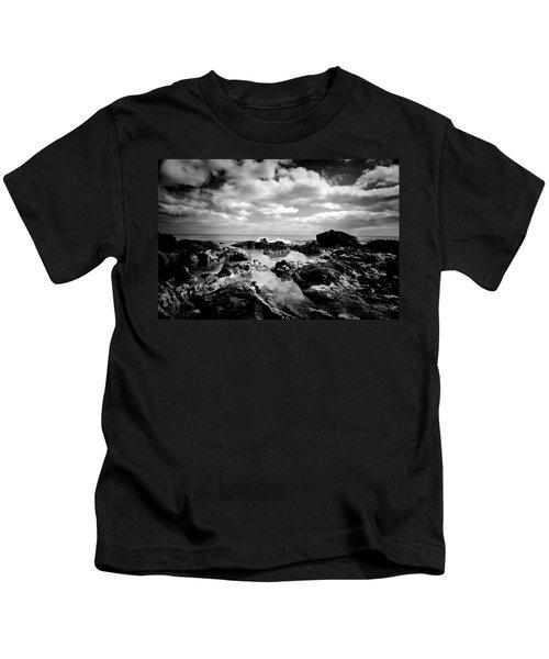 Black Rocks 1 Kids T-Shirt