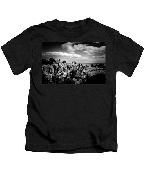 Black Rocks 3 Kids T-Shirt